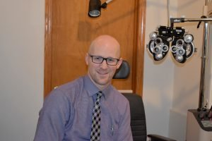 Dr. Kyle Booher headshot