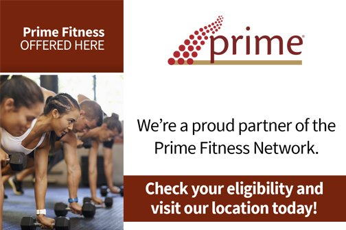 ERMC is a proud partner of Prime Fitness