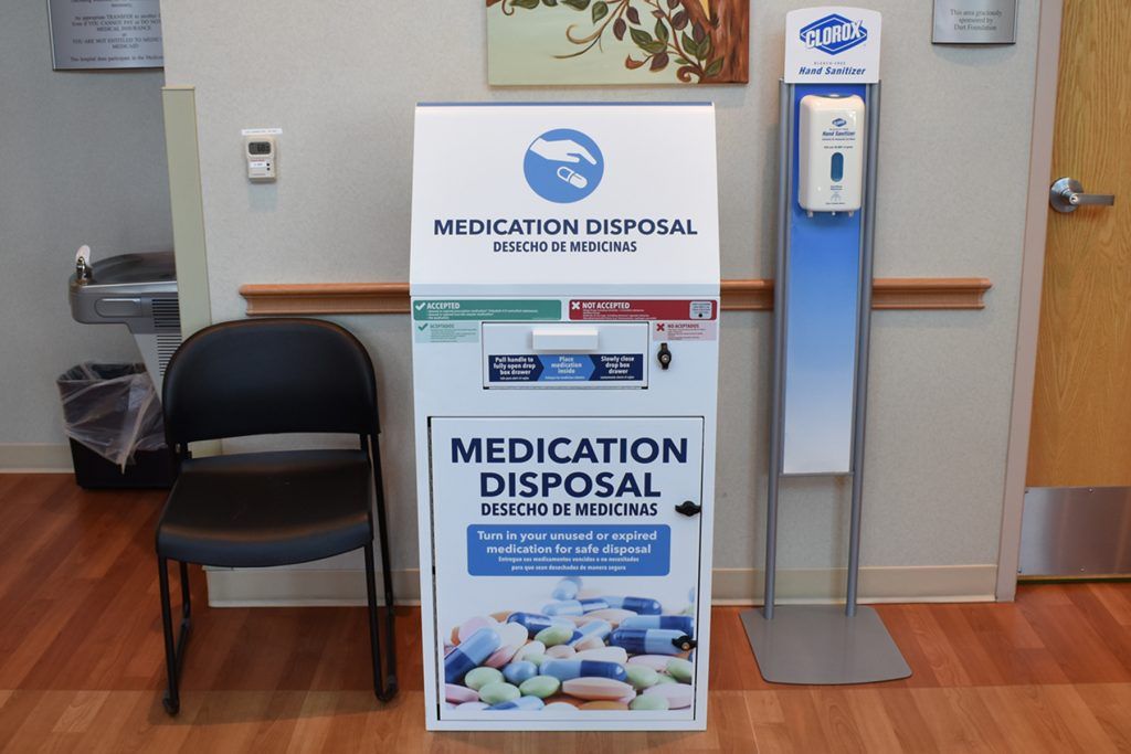 Medication Disposal Kiosk
