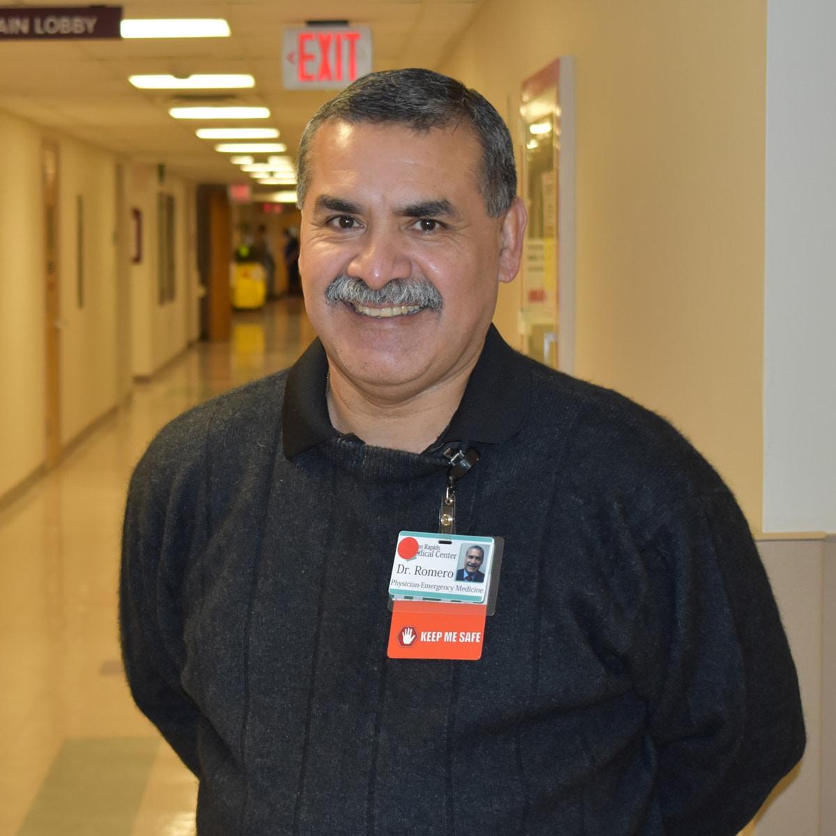 Martin Romero, MD Headshot